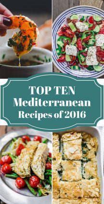 Top 10 Mediterranean Recipes of 2016