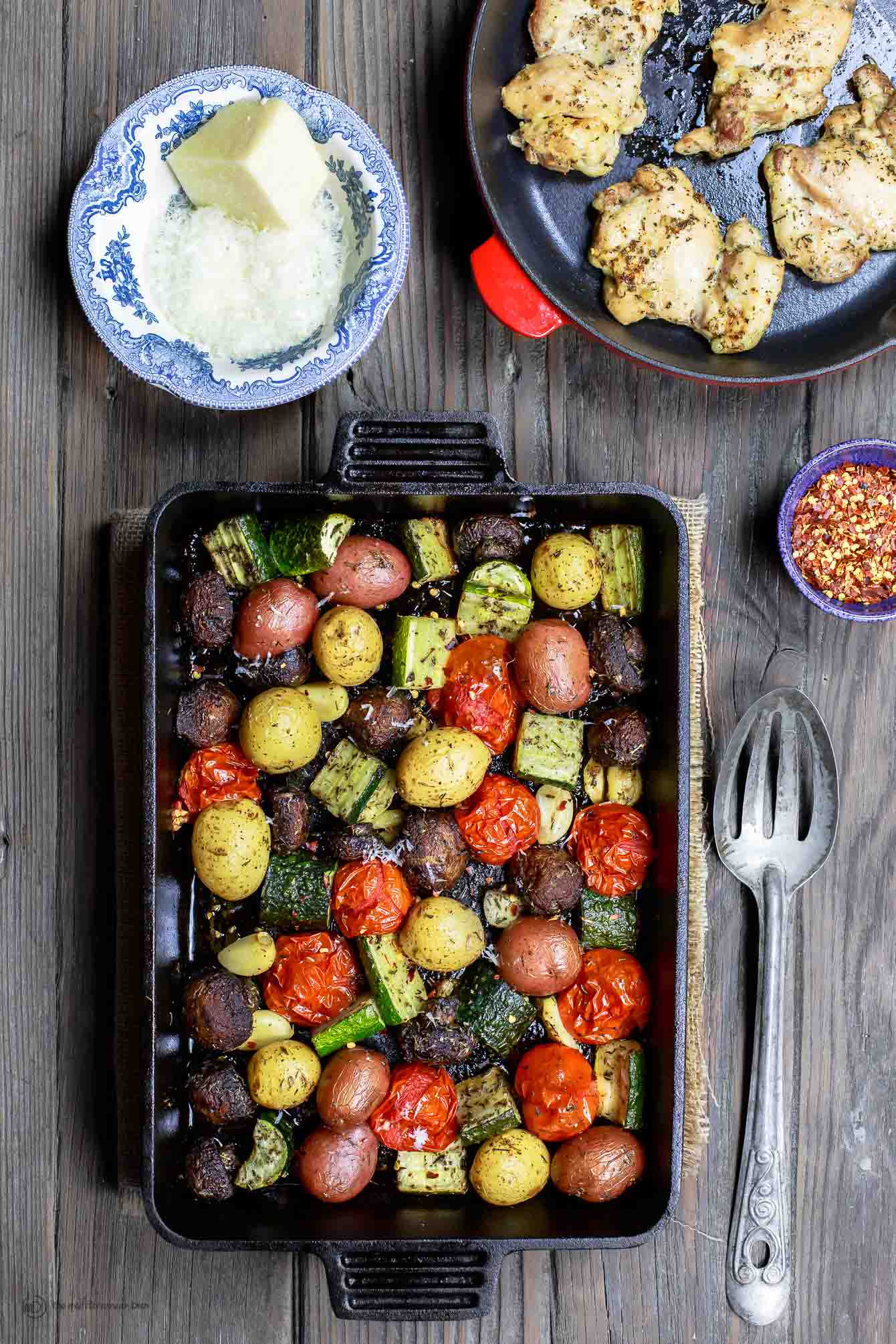 Best italian oven roasted vegetables the mediterranean dish italian oven roasted vegetables the mediterranean dish simple and delicious oven roasted vegetables forumfinder Gallery