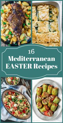 16 Mediterranean Easter Recipes
