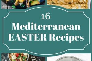 16 Mediterranean Easter Recipes | The Mediterranean Dish. Give your Easter dinner a delicious Mediterranean Spin! From entrees like Greek leg of lamb, to side dishes like Spanakopita, Moussaka, Stuffed Zucchini and more! Gorgeous Mediterranean salads and dip recipes, and the best Mediterranean desserts like bakalava! We've got ya covered for Easter! See all 16 recipes on TheMediterraneanDish.com