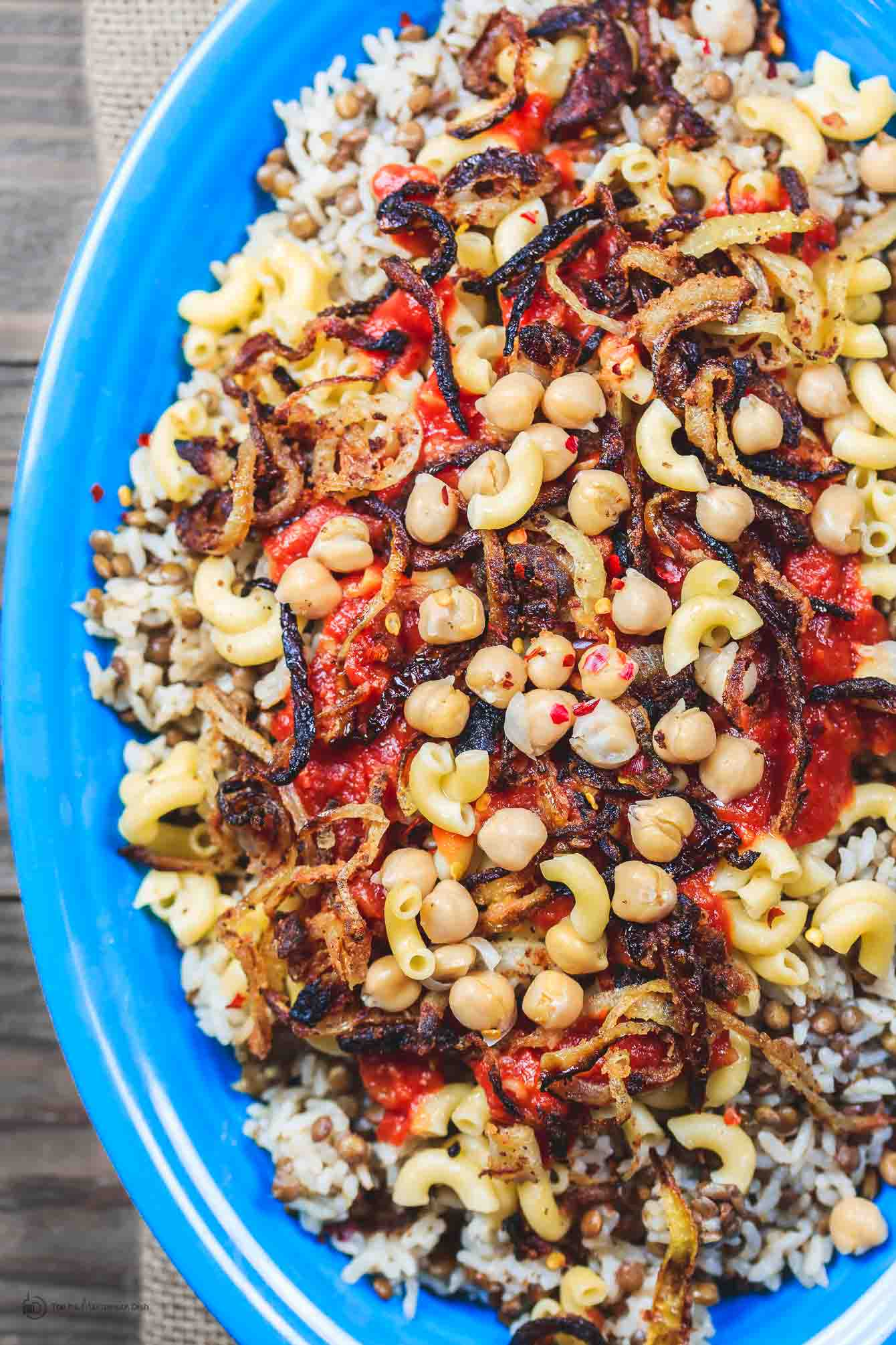 Egyptian koshari recipe the mediterranean dish egyptian koshari recipe the mediterranean dish hands down a family favorite a comforting forumfinder Images