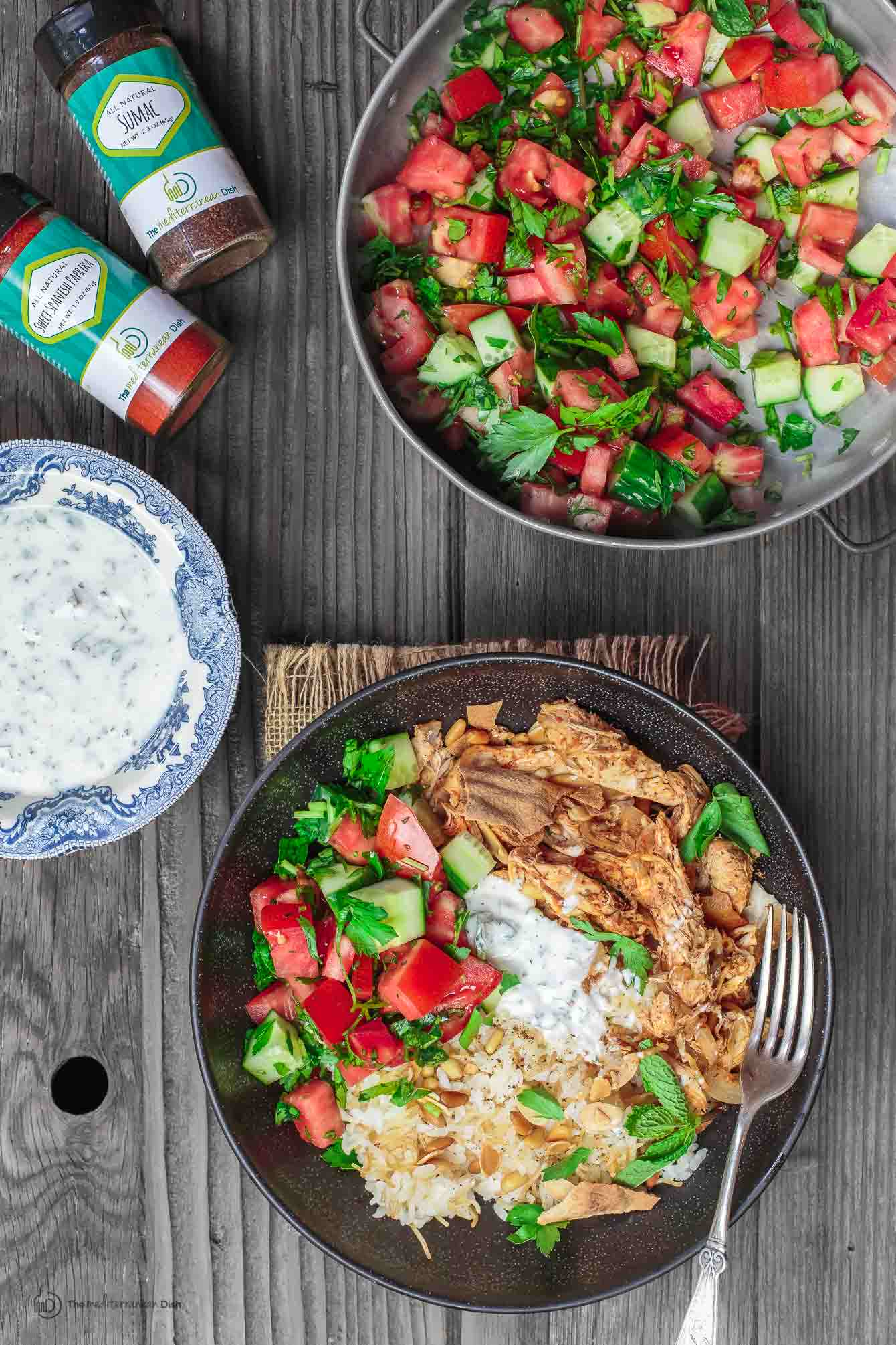 lebanese chicken fatteh dinner bowls  the mediterranean dish - lebanese chicken fatteh dinner bowls  the mediterranean dishflavorpacked lebanese chicken recipe