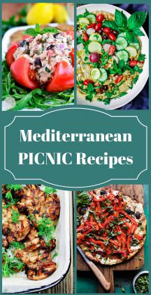 25 Picnic Recipes with a Mediterranean Twist!