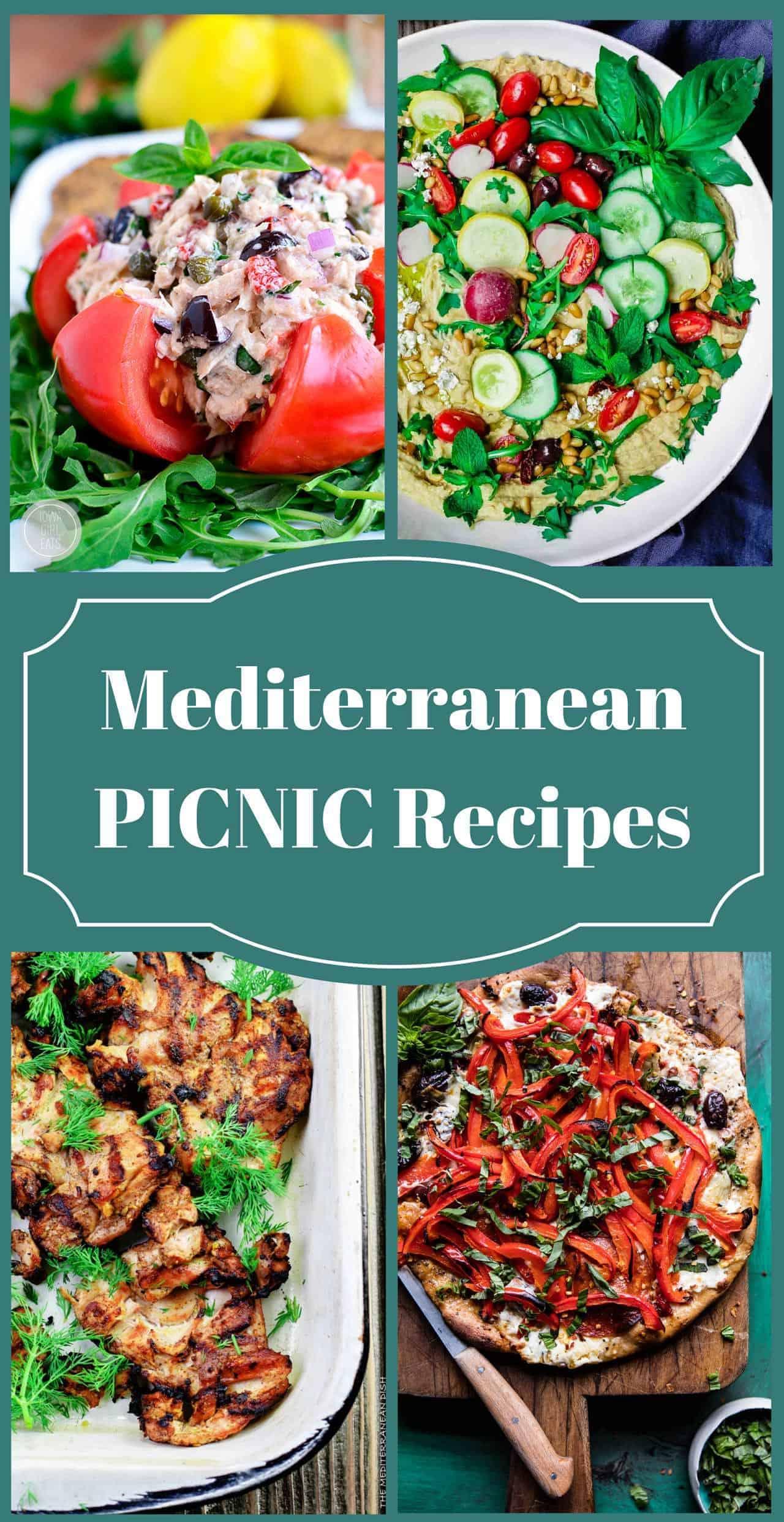 25 Mediterranean Picnic Recipes