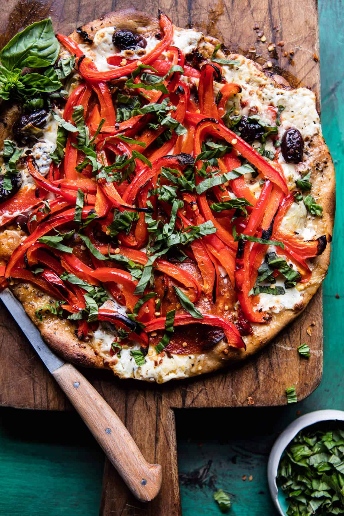 ... Grilled Chicken And Roasted Red Pepper Pizza | Chicken Wing Recipes