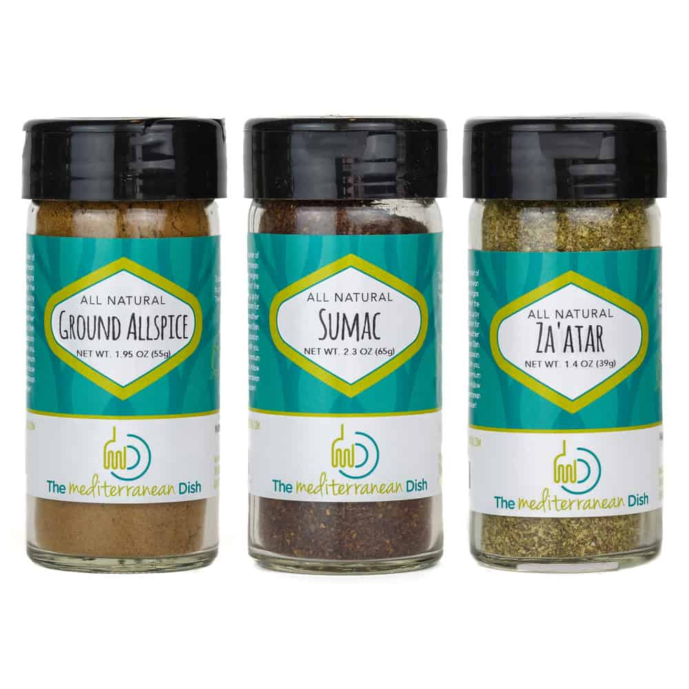 Create your own 3-pack of spices from The Mediterranean Dish