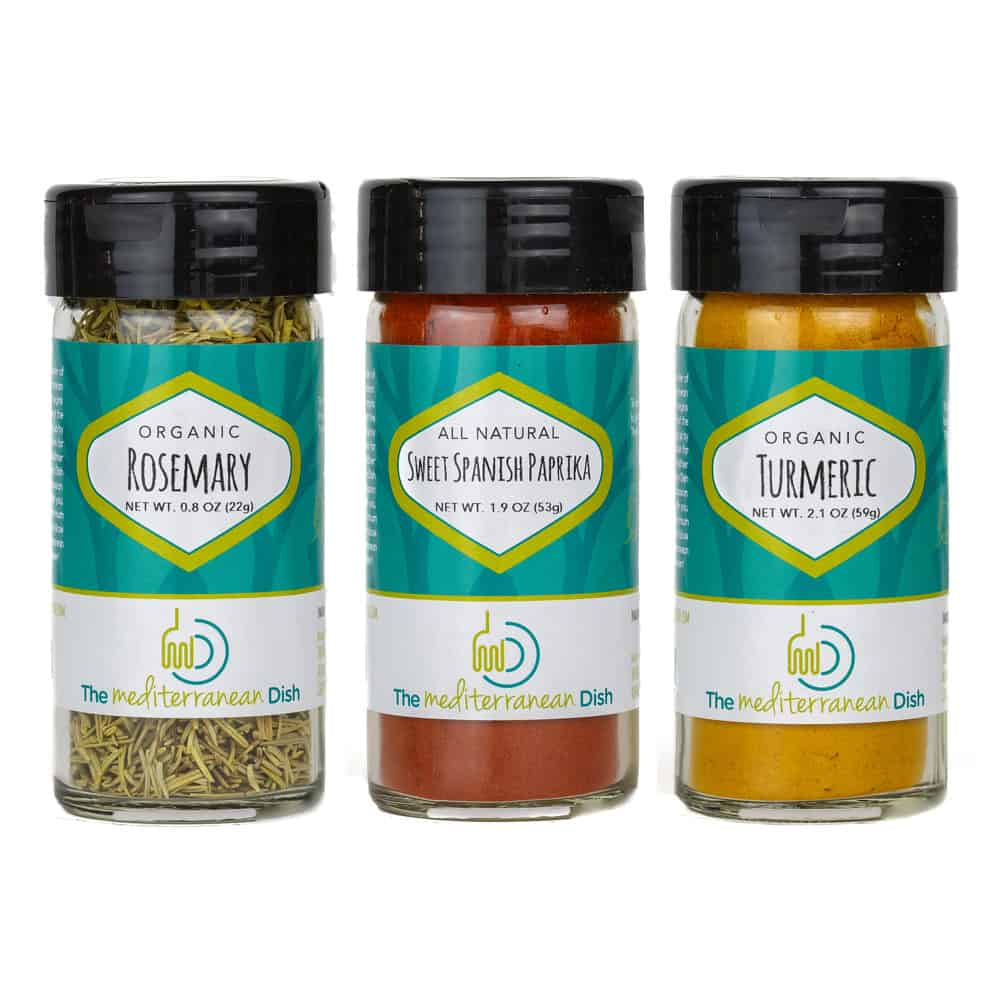 Create Your Own 3 Pack of Mediterranean Spices from The Mediterranean Dish