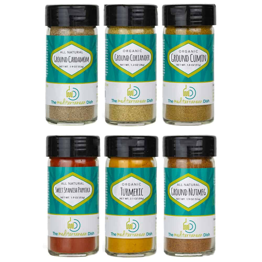 Create Your Own 6 Pack of Mediterranean Spices from The Mediterranean Dish