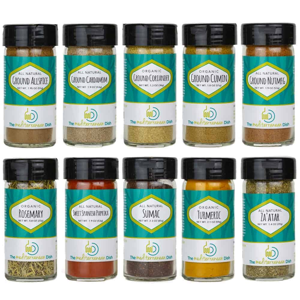 The Ultimate Mediterranean Spices Bundle | The Mediterranean Dish