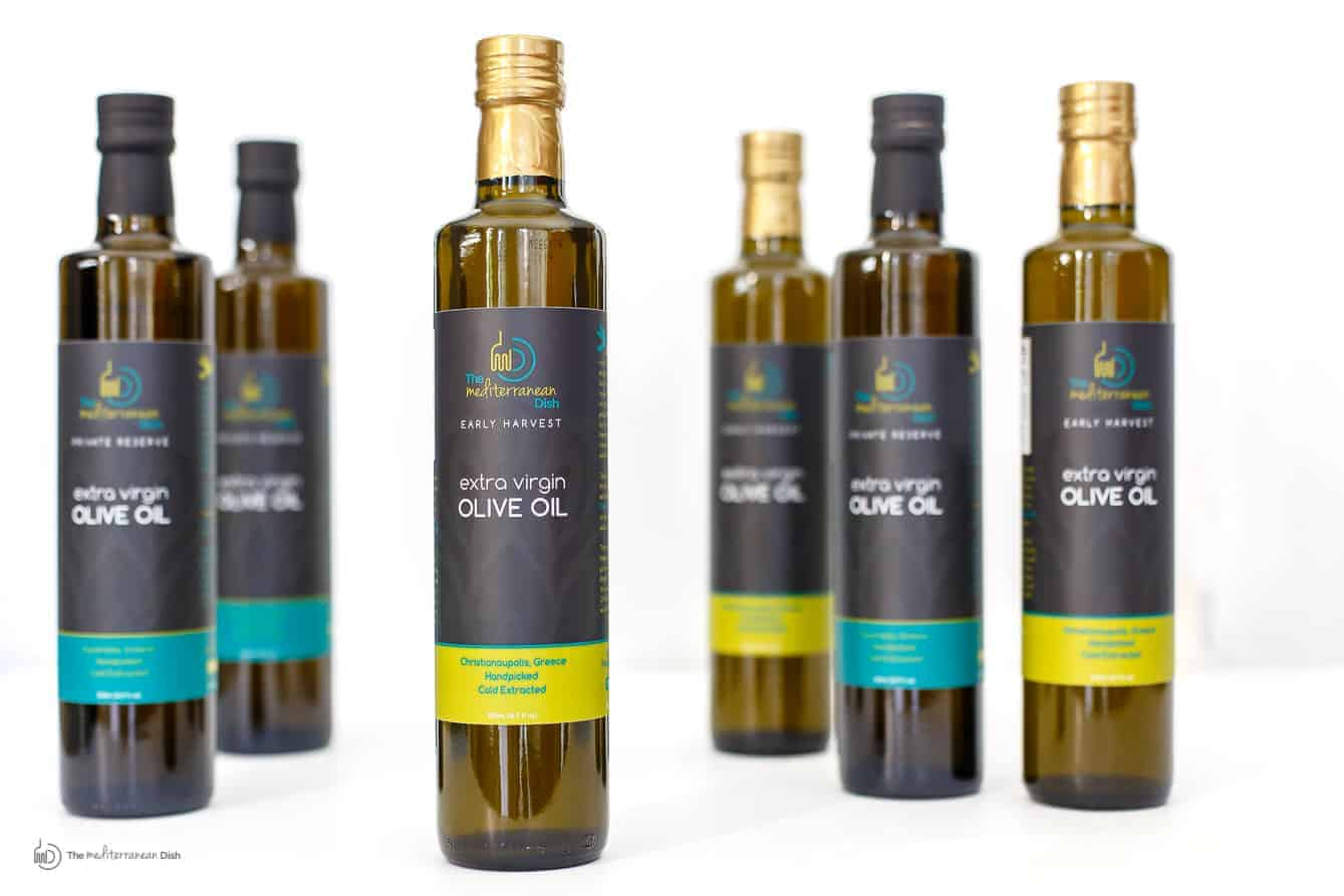 Extra Virgin Olive Oil Early Harvest by The Mediterranean Dish