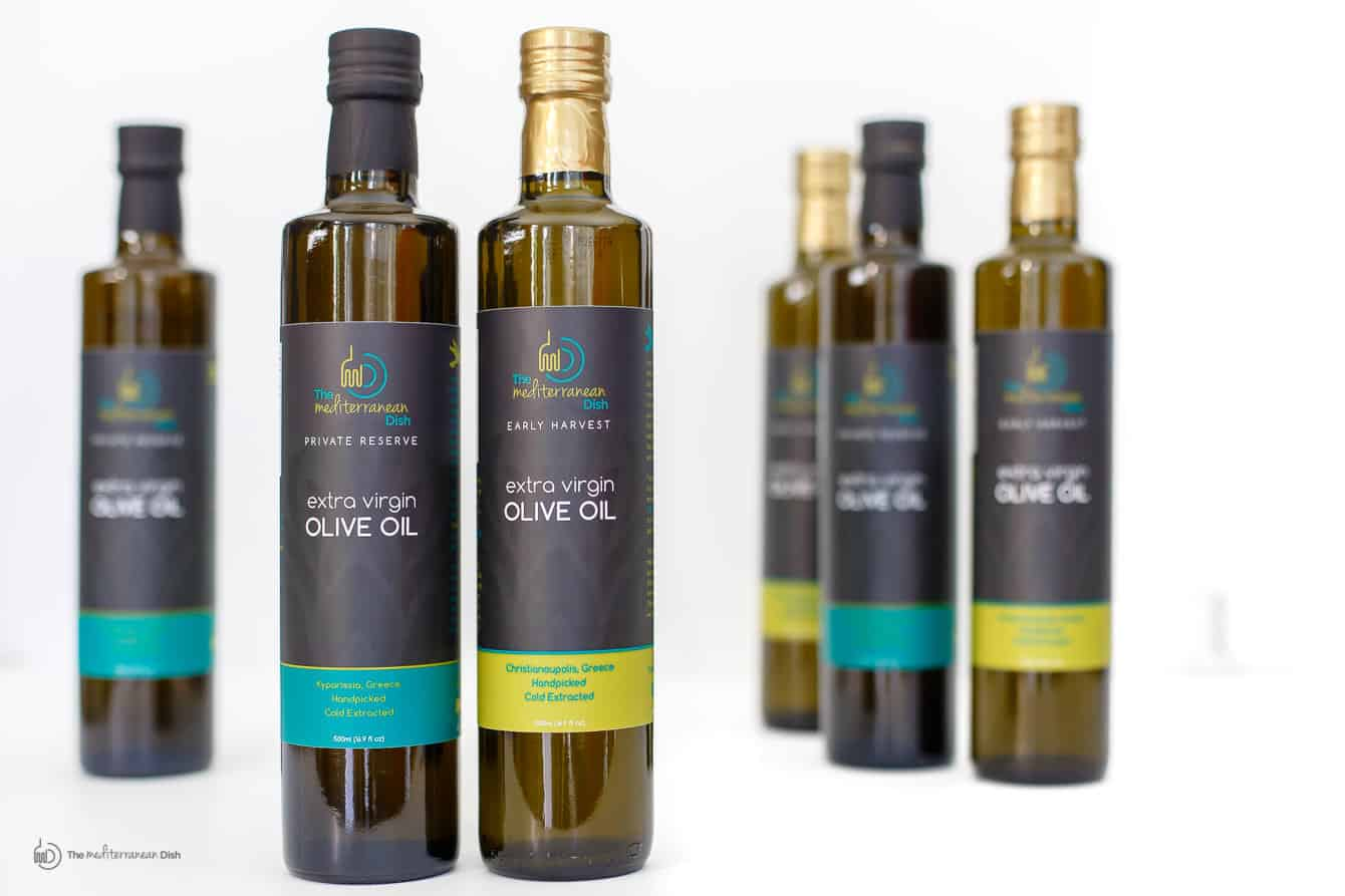 Extra Virgin Olive Oil Product Bundle By The Mediterranean Dish