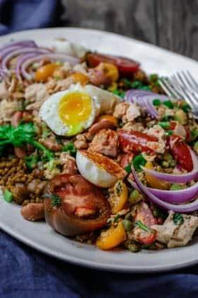 No-Mayo Tuna Couscous Salad Recipe