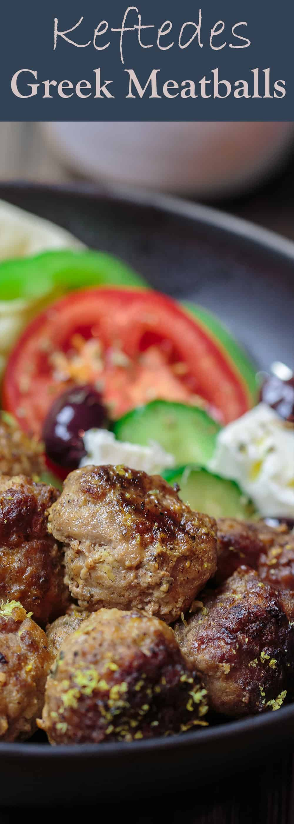Keftedes greek meatballs with a lemony sauce keftedes greek meatballs recipe the mediterranean dish best greek meatballs ever spiced with forumfinder Choice Image