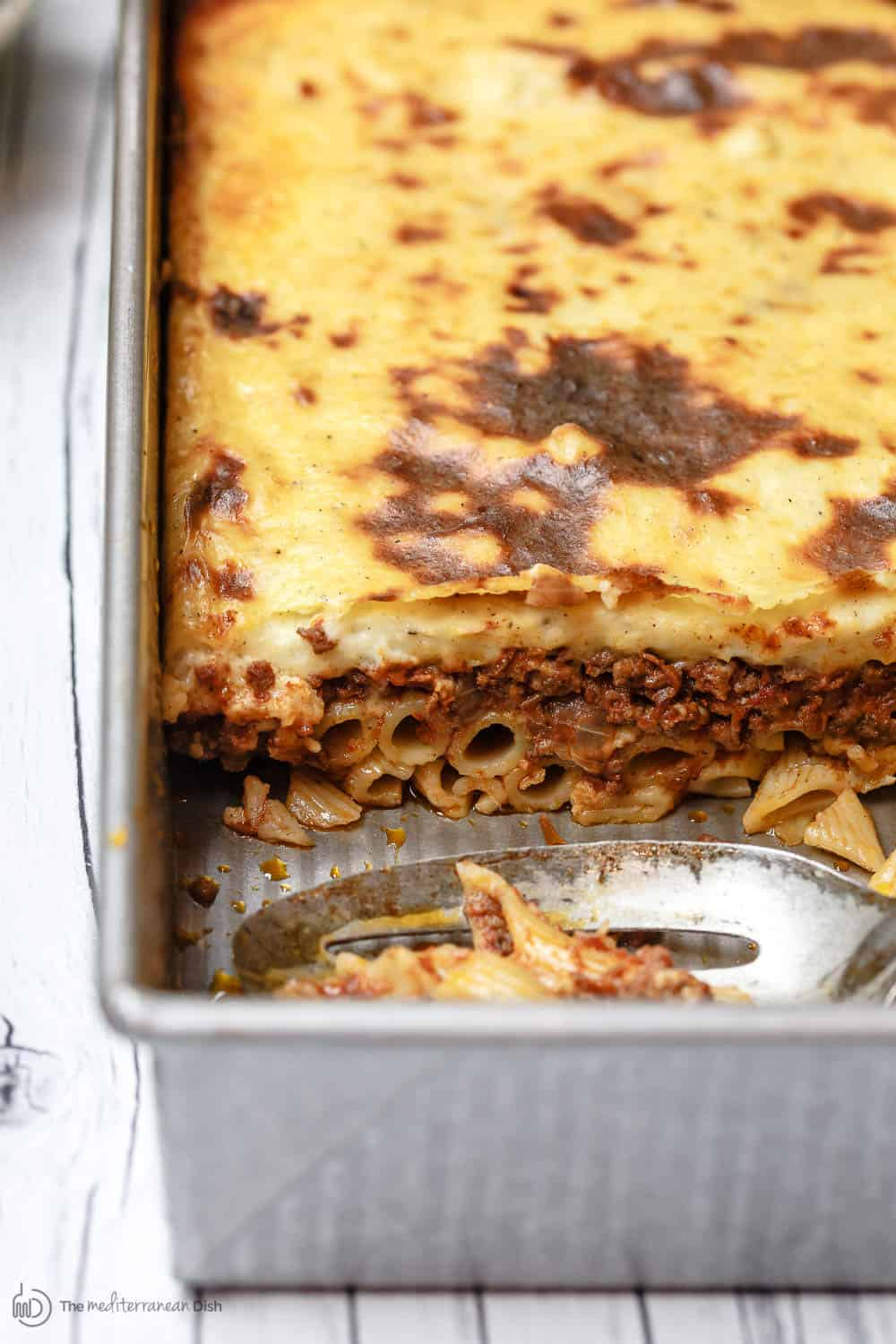 Greek Pastitsio Recipe | The Mediterranean Dish. A Delectable Greek Baked  Pasta Casserole With Flavor