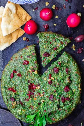 Kuku Sabzi: Persian Baked Omelet (and GIVEAWAY)