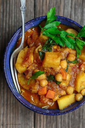 Easy Moroccan Vegetable Tagine Recipe