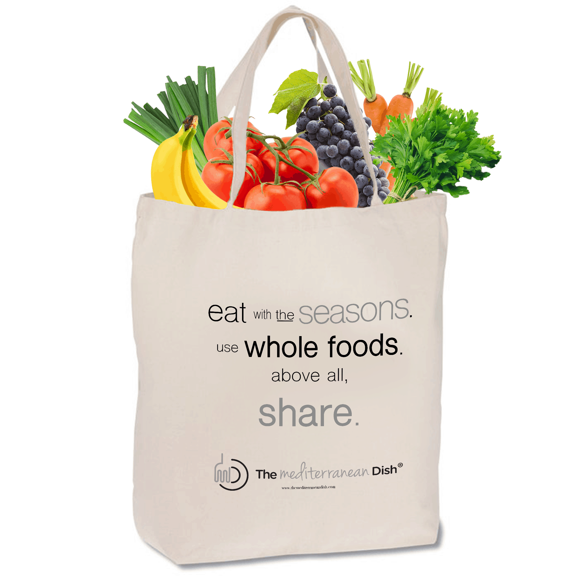 Giant Tote Bag | TheMediterraneanDish.com