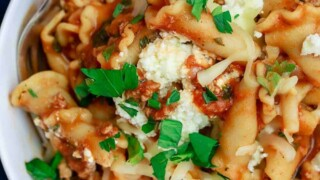 Turkey Lasagna Soup