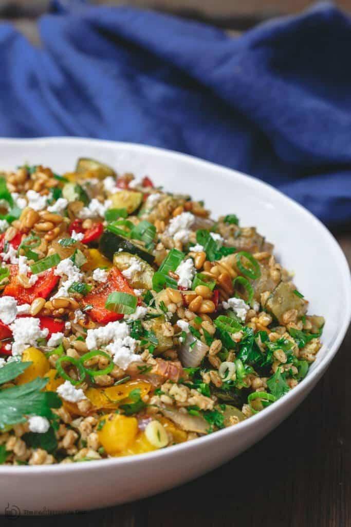 Roasted vegetable barley