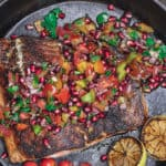 Mediterranean Blackened Salmon