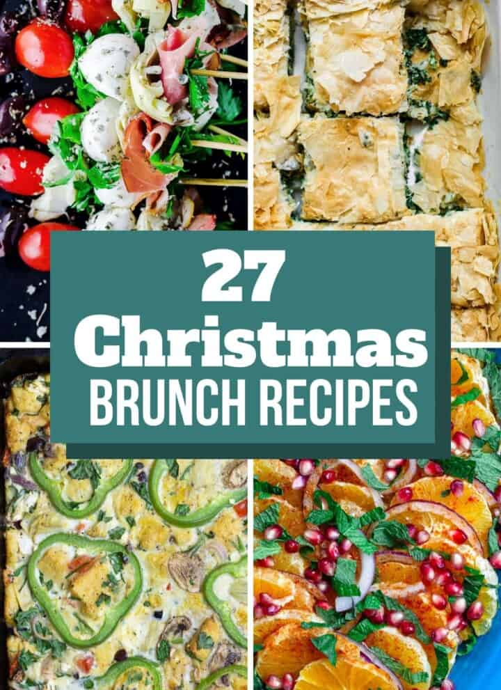 College of photos for Christmas Brunch Recipes