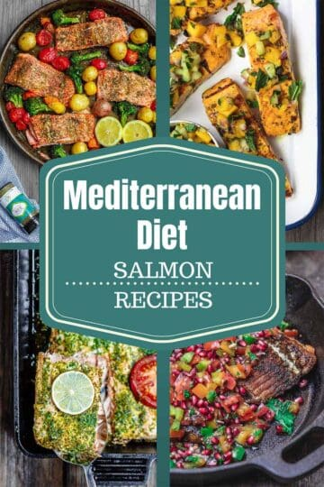 Mediterranean Diet Salmon Recipes. 7 salmon dinners prepared Mediterranean-style
