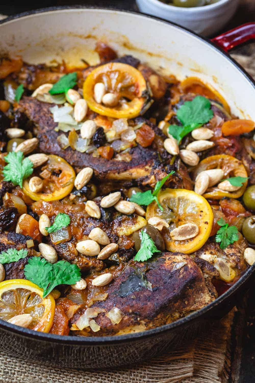 BEST Moroccan Chicken Recipe   Moroccan Chicken Recipe 7
