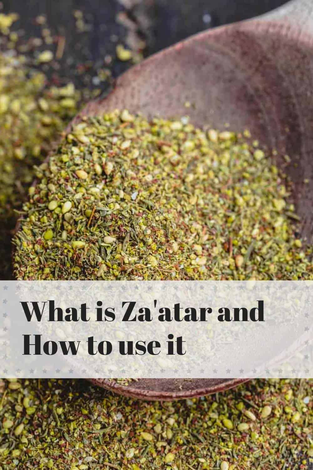 Za'tar Spice. What is Za'atar and How to Use it