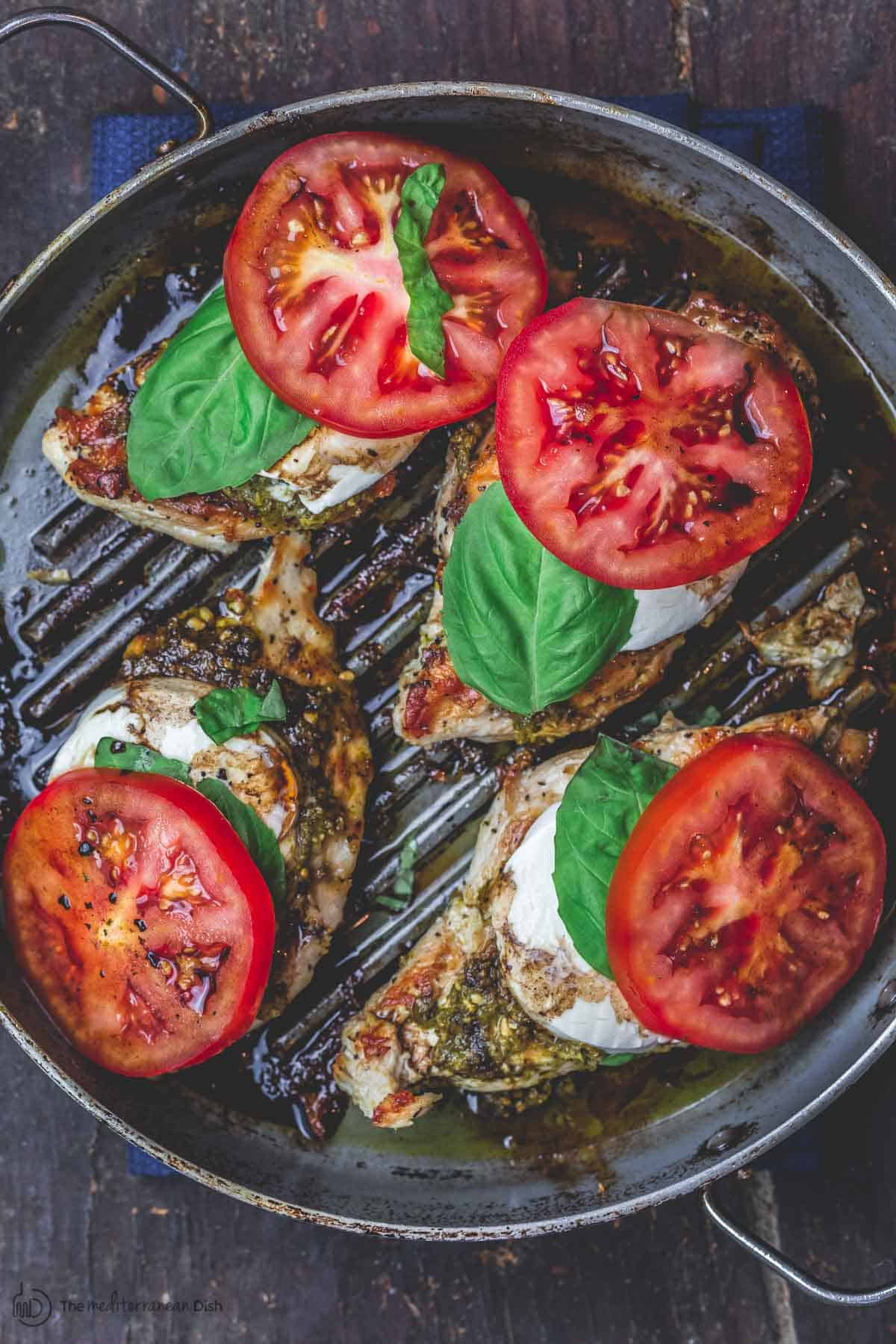 Easy Caprese Chicken   Caprese Chicken Recipe 5