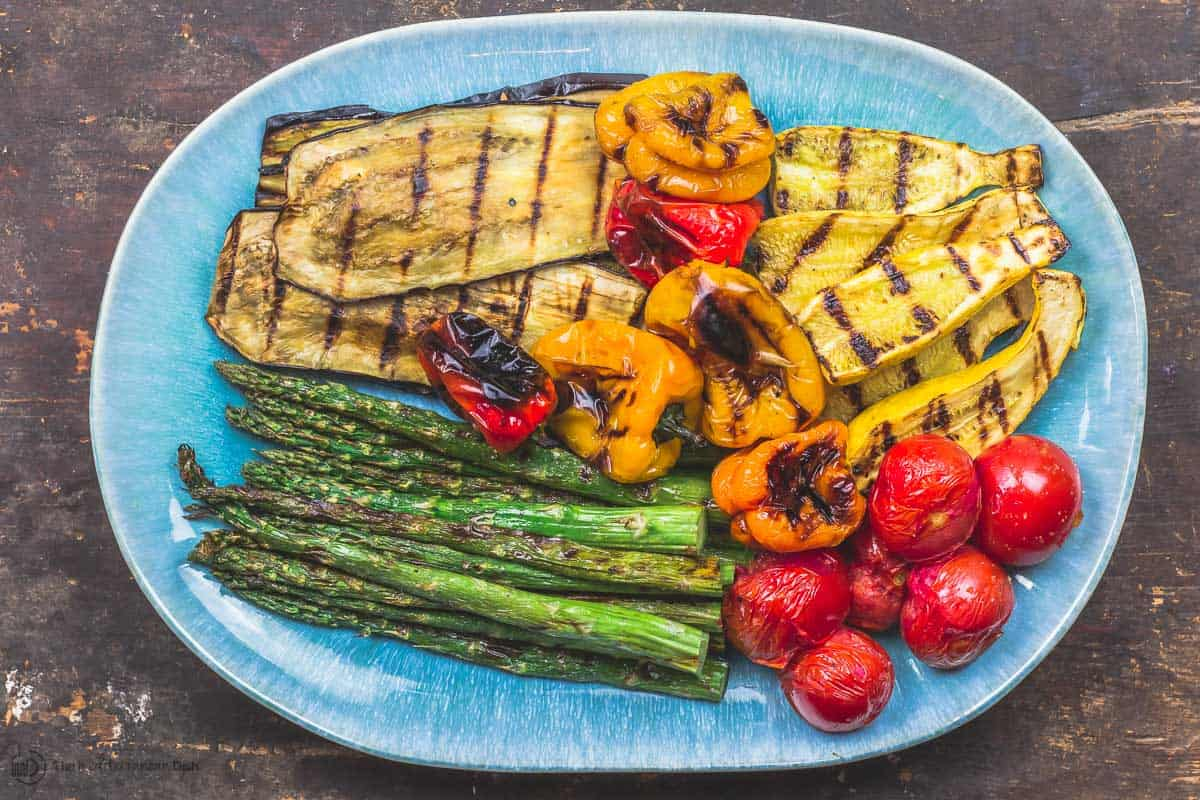 Easy Mediterranean Grilled Vegetables   The Mediterranean Dish