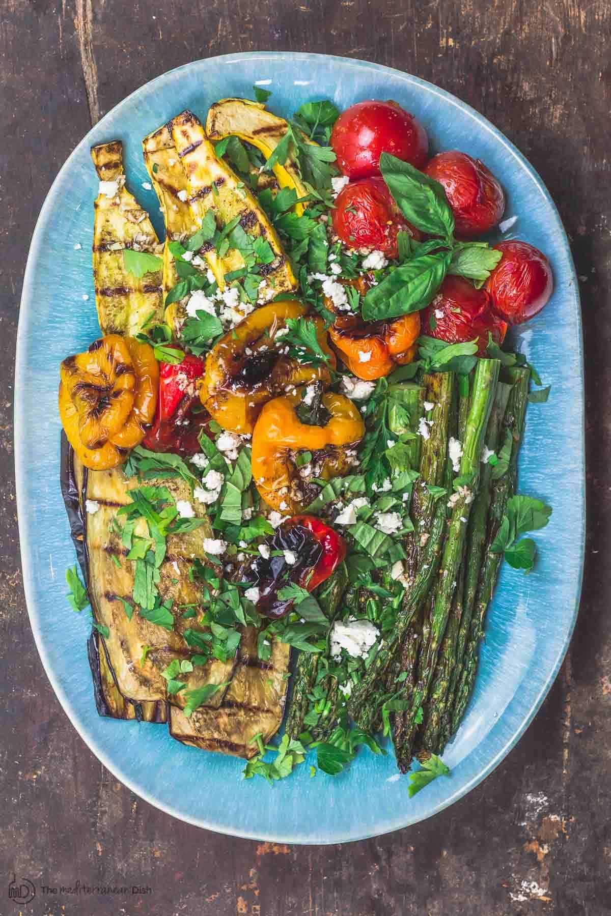 Easy Mediterranean Grilled Vegetables   Grilled Vegetables 3