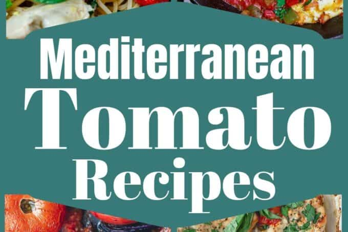 Mediterranean tomato recipes that are not salad