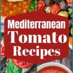 pin image 1 collage of tomato recipes