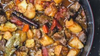 mediterranean diet lamb stew