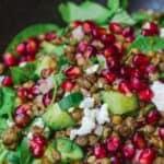 pin image 1 lentil salad