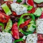 pin image 1 for Greek salad