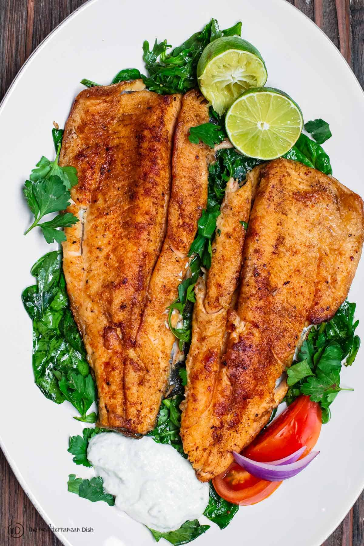 Easy Pan Seared Trout Recipe The