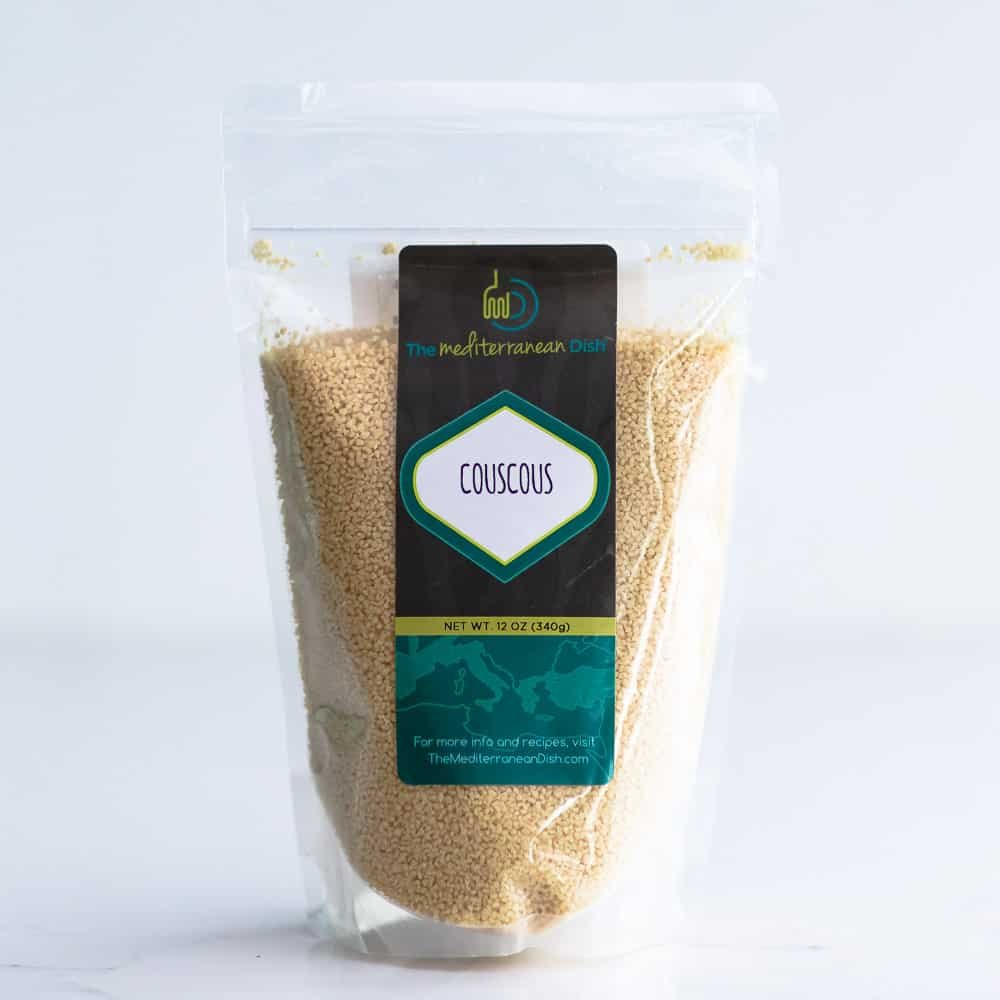 dry couscous from The Mediterranean Dish shop