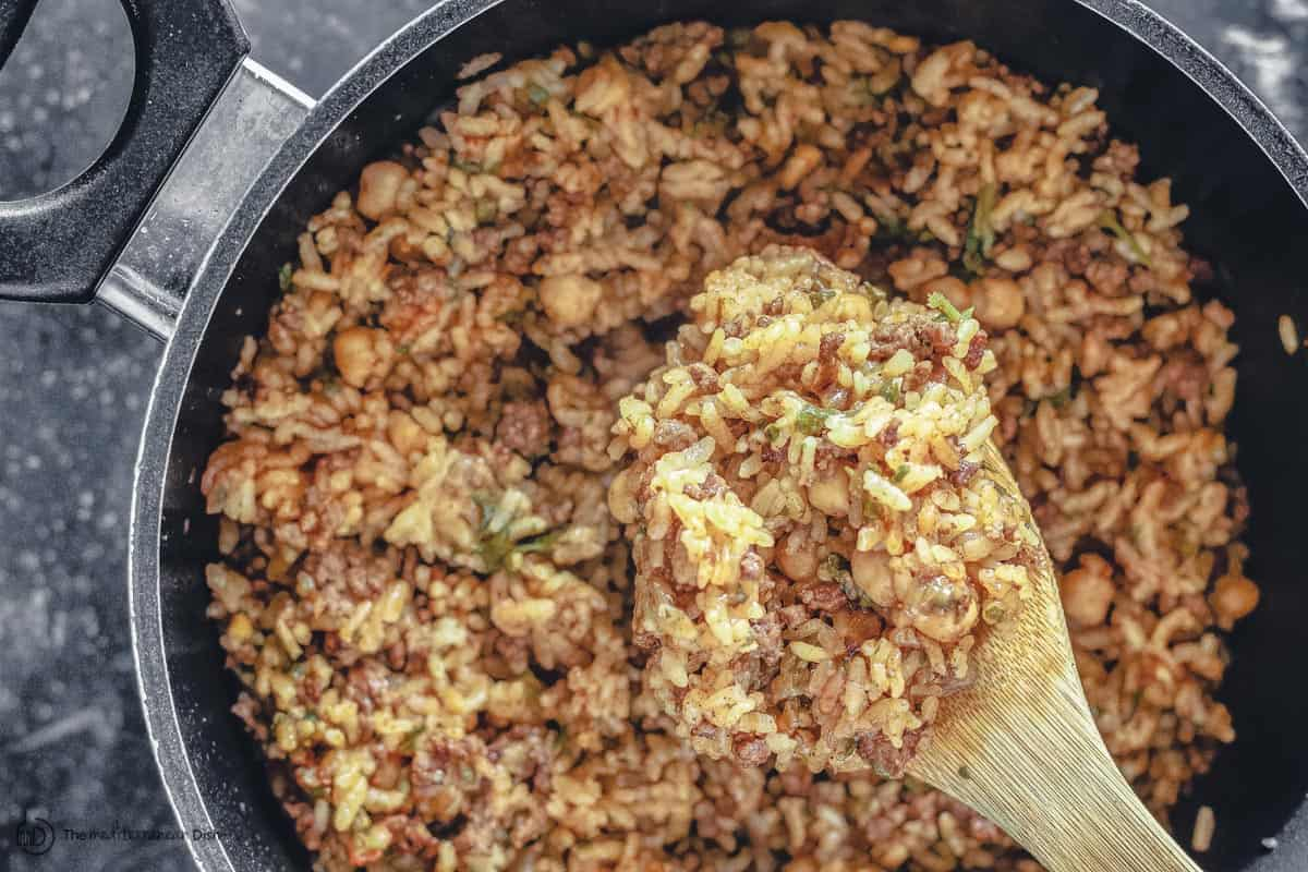 Rice stuffing for stuffed bell peppers