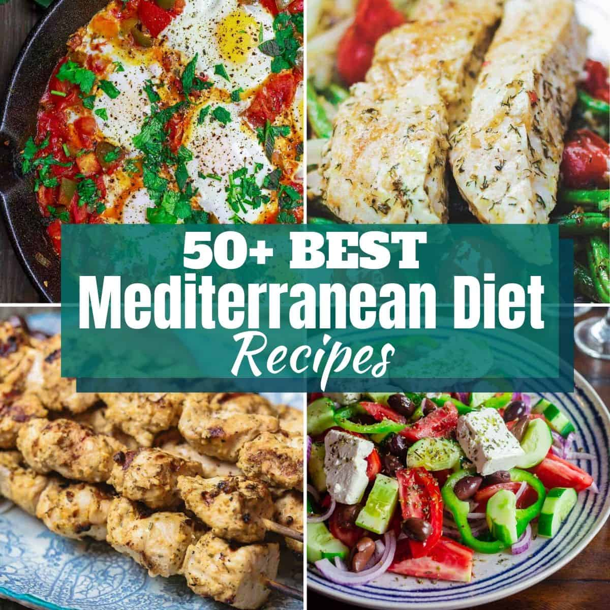 50+ Top Mediterranean Diet Recipes
