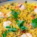 pin image. one pan shrimp and rice