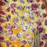 pin image 3 for clafouti recipe