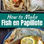 pin image 2 for fish in parchment or fish en papillote