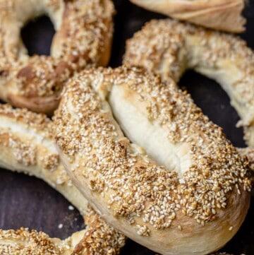 Jerusalem sesame bagels