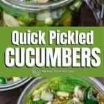 pin 1 for quick pickled cucumbers