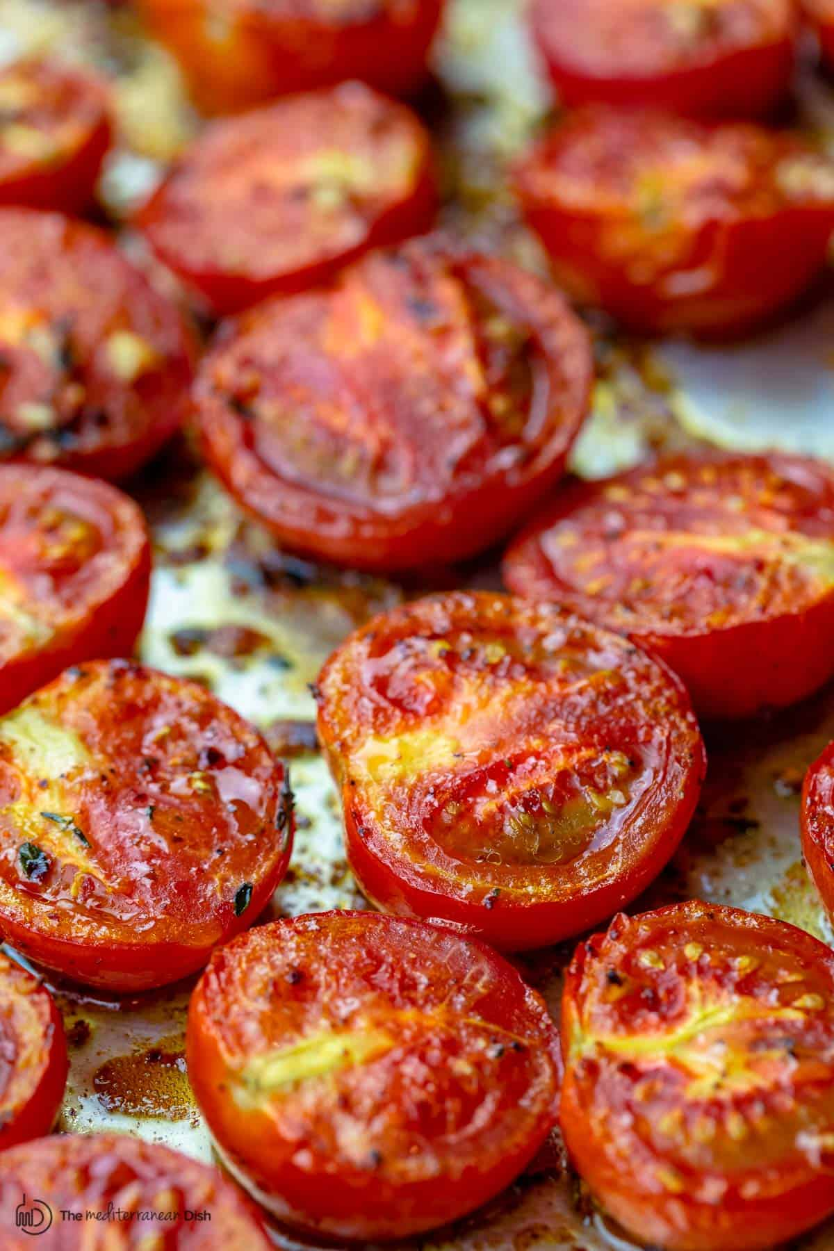 Quick Oven Roasted Tomatoes Recipe