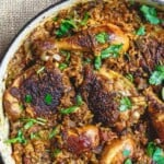 pin image 2 for spanish chicken and rice