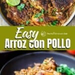 pin image 1 for arroz con pollo