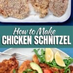 pin image 1 how to make chicken schnitzel