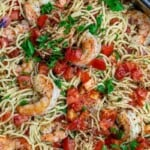 pin image 2 shrimp pasta recipe